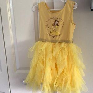 Belle tutu dress underwear part is cut off